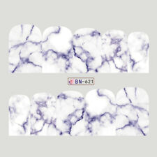 MARBLE Nail Art Stickers Water Transfer DIY Decal (BN-621) - 1 sheet