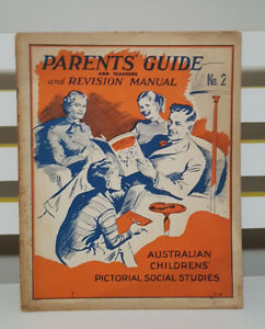 PARENTS' GUIDE AND REVISION MANUAL NO. 2! PICTORIAL SOCIAL STUDIES BOOK!