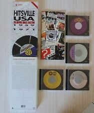 LONG COFFRET 4 CD + LIVRE HITSVILLE USA THE MOTOWN SINGLES COLLECTION 1959 1971