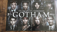 2014 SDCC COMIC CON EXCLUSIVE FOX POSTER GOTHAM BATMAN BRUCE WAYNE