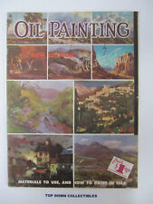Oil Painting How To,   by Walter Foster   Vintage   #4
