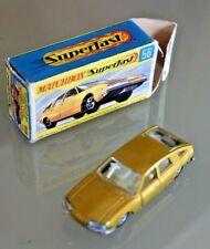 LESNEY MATCHBOX Superfast BMC 1800 PININFARINA N° 56 Boite d'origine