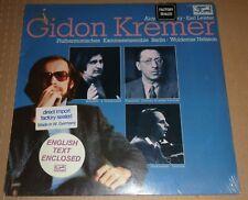 Gidon Kremer SCHNITTKE/STRAVINSKY/STOCKHAUSEN - Eurodisc 201 234-405 SEALED