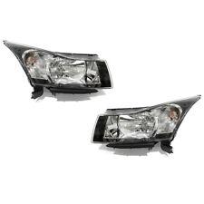 OEM NEW Head Light Lamp Assembly Right & Left Set (2) 2013-2016 Chevrolet Cruze
