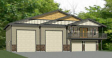60x50 Apartment with 2-Car 2-RV Garage - PDF FloorPlan - 1,648 sqft - Model 2