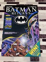 Vintage 1992 Batman Returns Cereal Box Static Cling Sticker Ralston Advertising