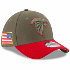ATLANTA FALCONS NFL NEW ERA 39THIRTY SALUTE TO SERVICE SIDELINE HAT CAP M/L $36