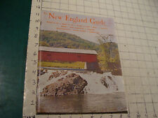 the NEW ENGLAND GUIDE annual 1963-64, 136pgs