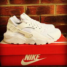 Nike Air Huarache Triple White' UK Size 7