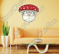 "Fly Agaric Amanita Mushroom Forest Funny Wall Sticker Room Interior Decor 22"""