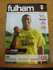 28/10/2006 V Wigan Athletic Fulham. gracias por ver este artículo, comprar con con