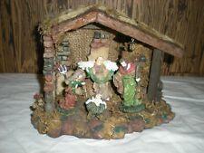 Vintage Manger With Nativity Items Kmart Dept 9