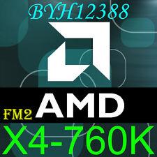 AMD Athlon X4 760K 3.8GHz Quad Core Socket FM2 100W AD760KWOA44HL Processor CPU