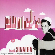 Complete 1940-1954 in Hollywood Performances; Frank Sinatra 2003 3-CD Set, Vocal