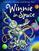 Winnie in Space Hardback (Winnie the Witch) by Valerie Thomas, Good Used Book (H