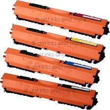 4/PK Color Toner Cartridge Set for HP CF350A CF351A CF352A CF353A - Pro M177FW