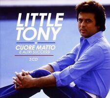 LITTLE TONY - CUORE MATTO E ALTRI SUCCESSI - 3 CD NUOVO SIGILLATO