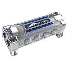 NEW POWER ACOUSTIK PCX-3F 3 FARAD DIGITAL CAR AUDIO CAPACITOR BLUE VOLT METER