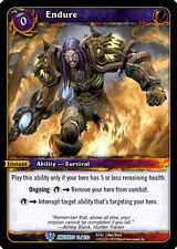 WOW WARCRAFT TCG WAR OF THE ANCIENTS : ENDURE X 3