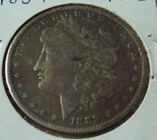 MORGAN SILVER DOLLAR COIN 1889 P