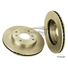 One New OPparts Disc Brake Rotor Front 40501017 45251S84A01 for Honda CL Accord