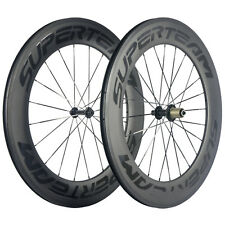 Superteam 88mm Carbon Wheelset Transparent Logo Road Bike R13 Hub Carbon Wheels