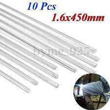 10pcs 450 x 1.6mm Aluminium Low Temperature Brazing Rods For Aluminium Repair
