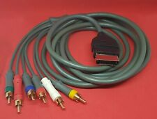 Original Xbox Component AV Cable Fully Shielded ** UK Stock**