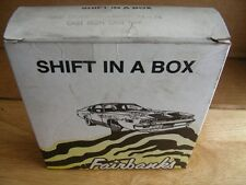 Fairbanks Ford Cruise-O-Matic 1973-9 FMX Shift Kit Shift in a Box