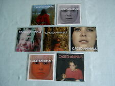 CAGED ANIMALS job lot of 7 promo CDs Eat Their Own In The Land of Giants