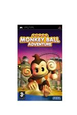 SONY PSP SUPER MONKEY BALL ADVENTURE PAL ITALIANO COMPLETO