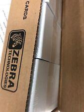 Zebra Premium Quality Plastic Cards 5x 100, 500 Cards In Total