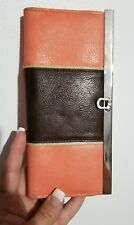 Orange Brown Womans Wallet - BINT
