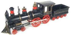 Carpenter antique cast iron train loco 1880
