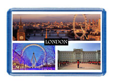 London Fridge Magnet - Large Size (7cm x 4.5cm) - Gift Idea - Tourism