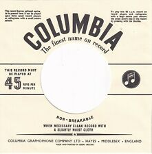 Columbia Company Reproduction Record Sleeves - (pack of 15)