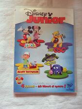 DISNEY JUNIOR 4 Episodi  Film DVD Collezione