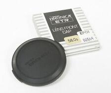 BRONICA 58MM FRONT CAP/127364
