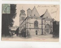 Pierrefonds l'Eglise France Vintage U/B Postcard 348b