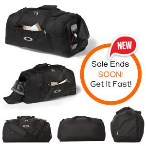 Oakley 55L Gym To Street Duffel Bag, Travel Duffel, Gym bag Blackout 92904ODM