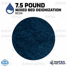 7.5 Pound Replacement Mixed Bed Bulk Deionization Resin (Color Changing), RO/DI