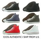 Converse Chuck Taylor All Star Canvas Multi Hi Colors 100% Authentic *NO BOX
