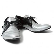 LIMI feu Shiny Leather Shoes Size US About  7(K-38196)
