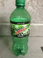 Mountain Dew Delware Collectible State Bottle