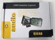 USB Cassette To MP3 Converter Capture EZCap Audio Super USB Portable Cassette