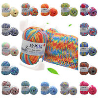 Chic 30 Colors Soft Crochet Yarn DIY Hand Milk Baby Cotton Knitting Wool Yarn