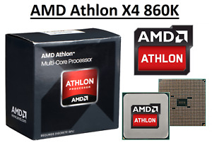 AMD Athlon X4 860K Quad Core ''Kaveri'' Processor 3.7 - 4.0 GHz, FM2+ , 95W CPU
