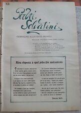 1917 NAPOLI PRIMA GUERRA MONDIALE RARA RIVISTA ILLUSTRATA PER VOI SOLDATINI n.5