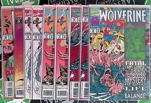 Wolverine #75-80 1993 Marvel Comics X-Men Magneto Cyber Hologram Card