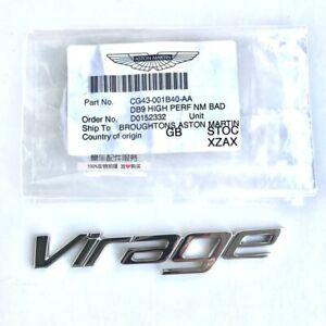 Aston Martin Virage DB9 High Performance Name Badge-Virage CG43-001B40-AA